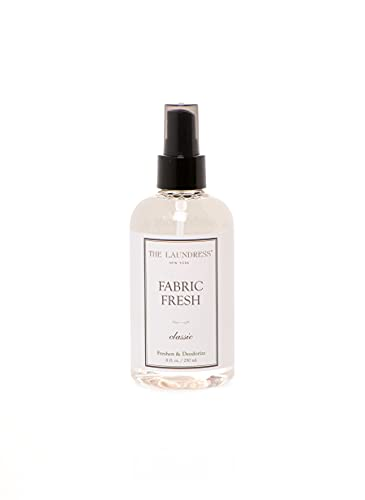 The Laundress - Fabric Fresh, Fabric Spray Deodorizer, Classic Scented, Clothing Refresher Spray, Allergen-Free Odor Remover, 8 fl oz