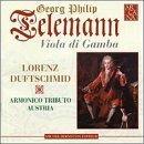 Viola Da Gamba Concerti by Telemann