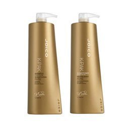 Joico K-pak Shampoo and Conditioner Liter Duo 33.8 oz Set by Joico [Beauty] (English Manual)
