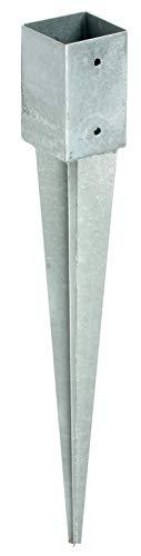 Gartenpirat Einschlagbodenhülse 91 für Pfosten 9x9 cm Pfostenträger zum Einschlagen