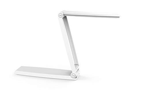 Akku LED-Leuchte MAULzed, mobile Lampe in Weiß, faltbar, dimmbar, 2040 Lux, warmweiß [Energieklasse A+]