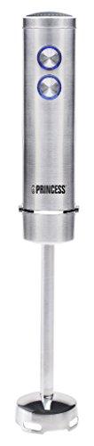Princess 221213 Batidora de Mano Slimfit, 400 W, Acero Inoxidable