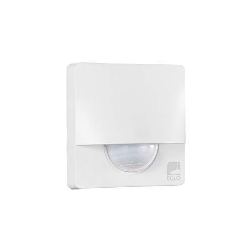 EGLO Bewegungsmelder Detect me 3, Bewegungssensor aus Kunststoff, Farbe: Weiß, IP44