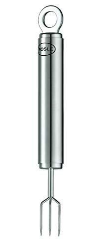 RÖSLE Pellkartoffelgabel, hochwertige Kartoffelgabel zum Kartoffelschälen, Edelstahl 18/10, Spülmaschinengeeignet