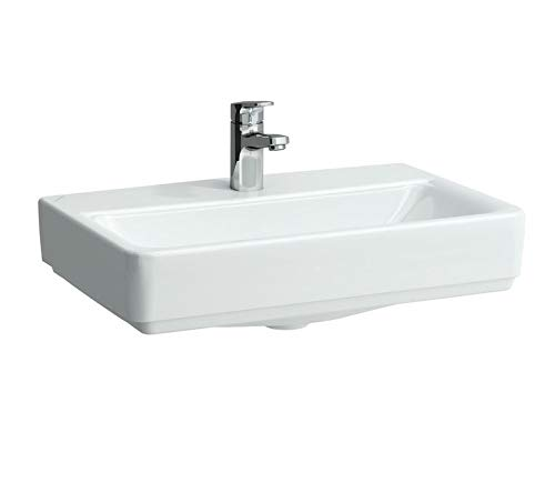 Laufen Waschtisch kompakt Unterseite geschliffen PRO 550x380 weiß, 8179580001041