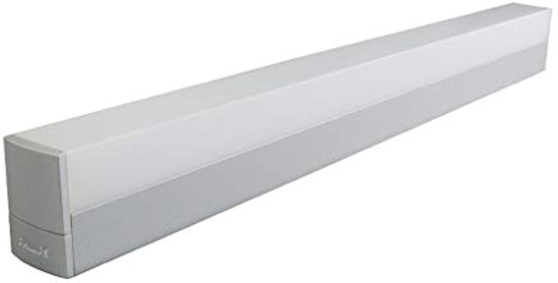 William 337 Spiegel Frontleuchte LED Einfache Wandleuchte Badezimmer Badezimmer Wohnzimmer Wasserdicht Feuchtigkeitsfest Dressing Schrank Spiegel Lampe [Energieklasse A +] (Farbe   Warm light 3000k)