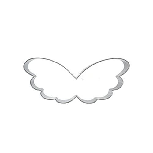 GJHL Exquisito y Duradero Paradise Wings Fruta Vegetal Biscuit Cortador de Galletas Herramientas de Acero Inoxidable Ventas de Compras Online Sugarcraft Cocina Hornear Juguetes