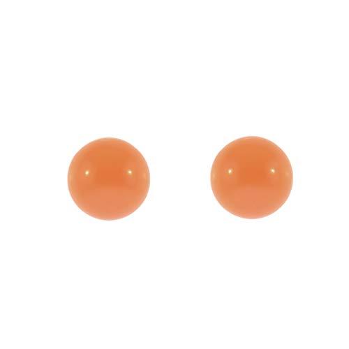 Córdoba Jewels   Pendientes en Goldfilled 14/20 con diseño Peral Coralina
