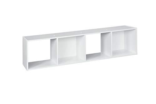 ClosetMaid 1029 Cubeicals Organizer, 4-Cube, White