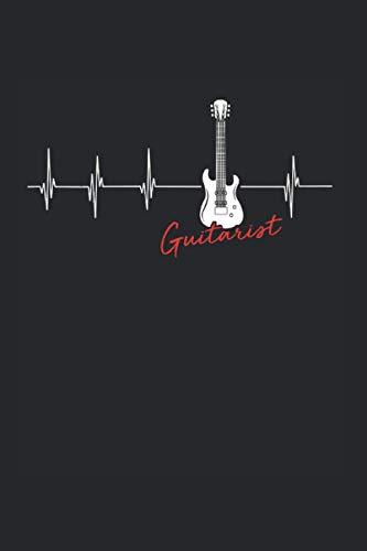 Guitarist   Gitarre Musik Songtexte Notizen: Musikbuch Notizbuch A5 120 Seiten liniert