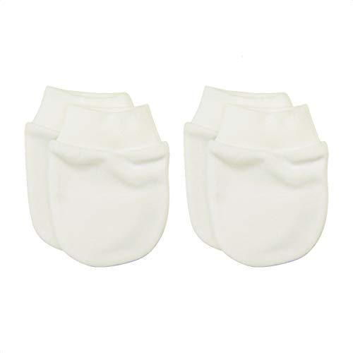 guantini neonato Sevira Kids - Muffole nascita in cotone biologico