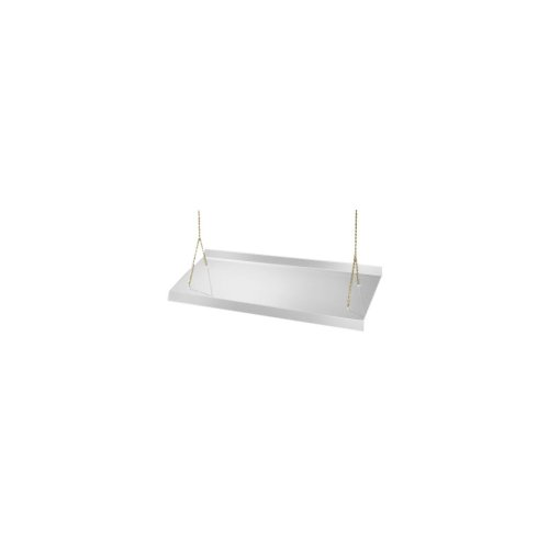 Cal-Mil 778-S Suspended Sneeze Guard, Single Face, 2' Height, 72' Width, 18' Length