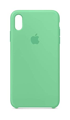 Apple Custodia in silicone (per iPhone XS Max) - Spearmint