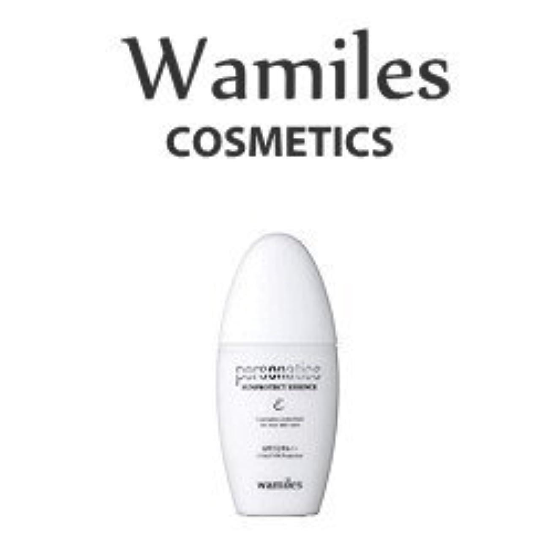横たわる写真オーロックwamiles/ワミレス サンプロテクトエッセンス 30ml 美容 化粧水