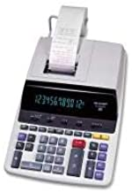 Sharp EL2630PIII 12 Digit Commercial Printing Calculator - 12 Character(s) - Fluorescent - Power Adapter Powered