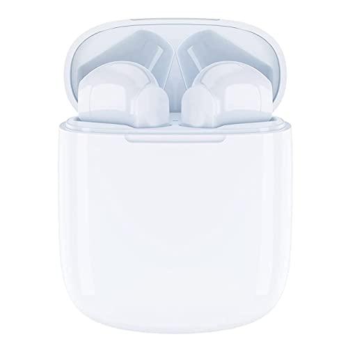 ROMSION Cuffie Wireless, Cuffie Bluetooth in Ear Design Ergonomico, Cuffie Bluetooth Senza Fili Suono Hi-Fi e Chiamate Chiarissime, Impermeabili IPX5 for iPhone Samsung Huawei Android
