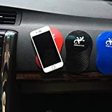 Dashboard Magic Anti-Slip Non-Slip Mat Car Dashboard Sticky Pad Adhesive Mat for Cell Phone, CD, Electronic Devices, iPhone, iPod, MP3, MP4, GPS - Colors (Red)