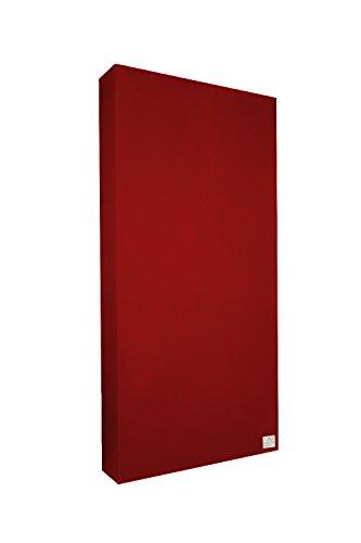 Pannello Fonoassorbente Standard 100x50x11 cm by Addictive Sound - Correzione Acustica - Molti Colori - 16.Rosso