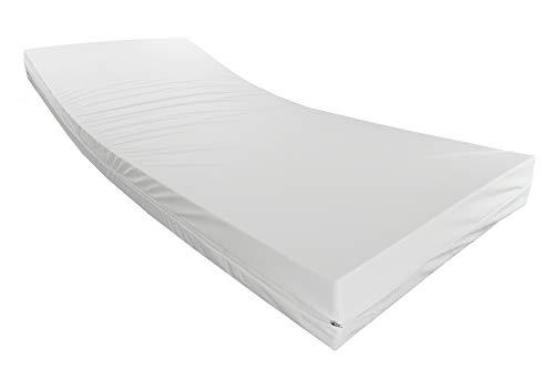 Standard Pflegematratze 90x200cm - Standard für die Heimpflege - 14cm Höhe - Made in Germany - 90 x 200cm