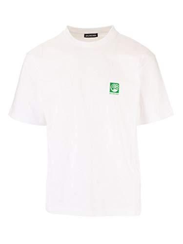 Balenciaga Luxury Fashion Heren 594579THV639000 wit T-shirt |