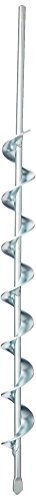 Jisco JR18 Earth Auger, 1-1/4-Inch by 18-Inch Length