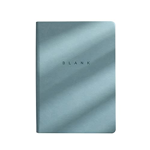 S-TROUBLE Cuaderno de bocetos en Blanco A5, Cuaderno de Notas de Escritura, Papel Beige, Cuaderno de Manual A5, Diario Personal para el diseñador de Estudiantes de la Escuela