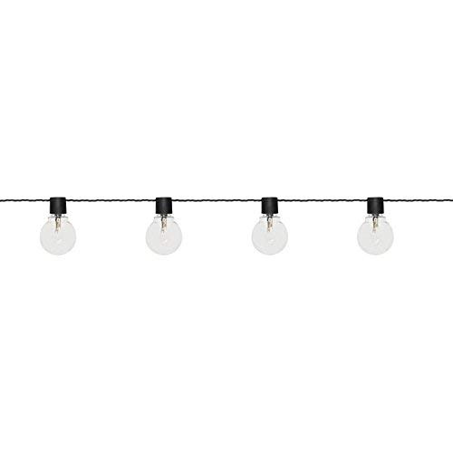 Star 476-25 Guirlande lumineuse Party Lights 55 mm, Plastique, 0.92 W, Transparent, 9,5 x 450 x 6