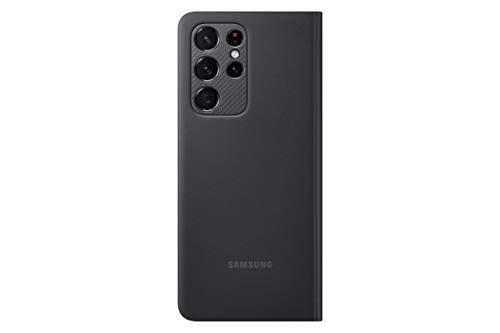 Samsung Clear View Cover per Galaxy S21 Ultra 5G (2021), Black