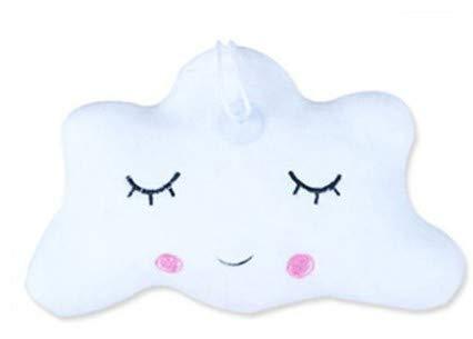 15x23cm Baby Kissen Kleine Süsse Wolke Weiss Deko Kinderzimmer Babybett
