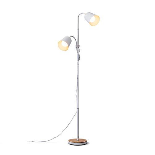 Staande lamp staande lamp in Europese stijl staande lampen van ijzer beschilderd Moderne vloerlampen verstelbaar woonkamer werkkamer nachtkastje kantoor wit vloerlamp