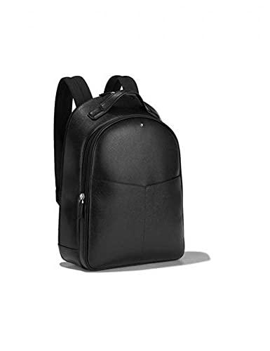 Montblanc MB Sartorial Backpack Small 2 Comp BK, Zaino Unisex-Adulto, Nero, Taglia Unica