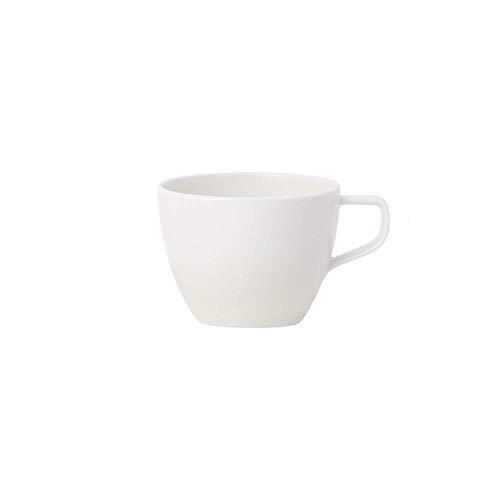 Villeroy & Boch Artesano Tazza caffè, Lavabile in Lavastoviglie, 250 ml, Porcellana Premium, Bianco (Original)