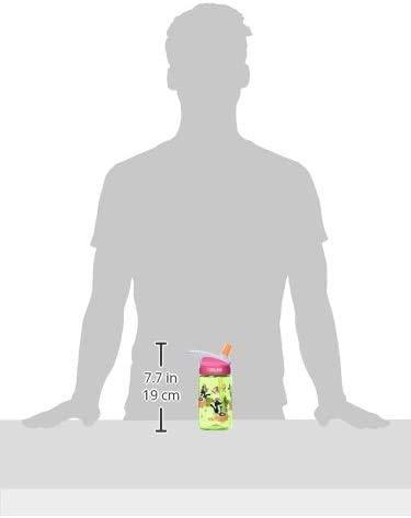 CamelBak Eddy 0.4-Liter Kids Water Bottle – - CamelBak Kids Big Bite Valve - Spill Proof- - Water Bottle For Kids - BPA-Free Water Bottle – 12 Ounces, Hedgehogs, Bottle Only