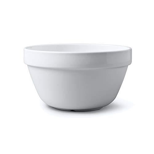 WM Bartleet & Sons 20cm White Porcelain Pudding Basin
