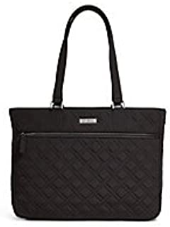 Work Tote Handbag Satchel in Classic Black