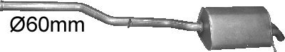 Preisvergleich Produktbild ETS-EXHAUST 3146 Endtopf Auspuff (für C270 - T203 C270 - W203 CLK 270 2.7 D KOMBI LIMOUSINE COUPE 170hp 2000-2009)
