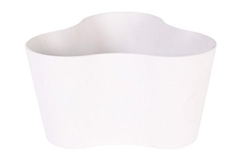 Ivyline Artstone 124774 26 x 14cm Claire Pot Trio - White