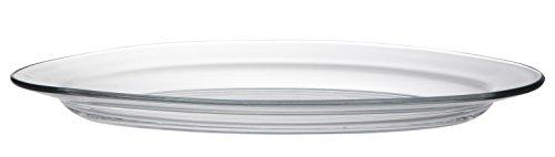 Duralex - Plat Ovale 36cm Lys Transparent