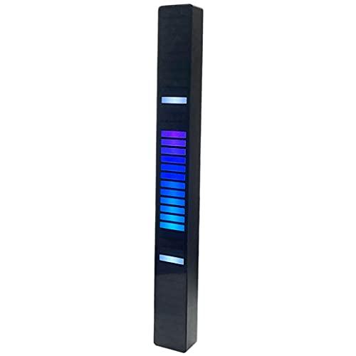 Baoblaze Luz de control de sonido del coche RGB de música activado por voz Luz ambiental Lámpara de decoración del hogar del coche - 40 LEDs