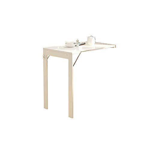 Faltbarer Wandtisch BJL Haushalt Klappwand Tisch Esstisch Studiertisch Multifunktionstisch - kann in Fotorahmen 90x60x75cm umgewandelt Werden