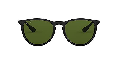 Ray-Ban Unisex Rb4171 Sonnenbrille, (Gestell: Schwarz, Gläser: Polarized Grün Klassisch 601/2P), Large (Herstellergröße: 54)