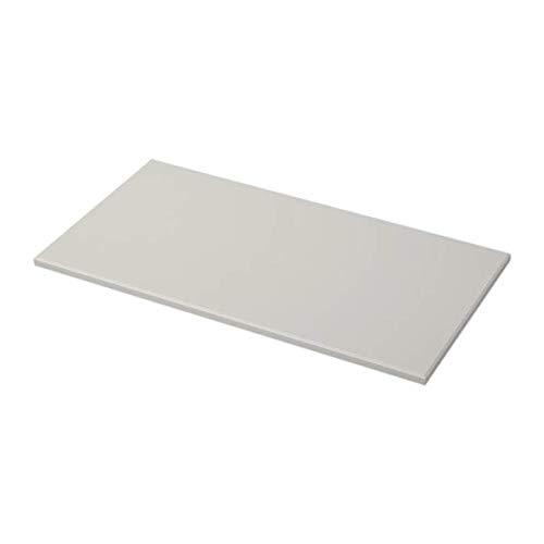 IKEA Klimpen Tischplatte, Grau Hellgrau, 803.563.41 Größe 129 x 68 cm