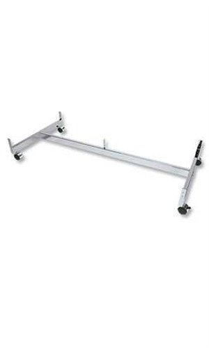 New 2021 spring and summer new Retails lowest price Chrome Finished Grid Base Gondola with 48