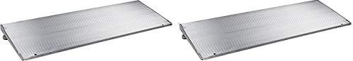 Prairie View Industries ATH1232 Adjustable Threshold Ramp, 12 Inch X 32 Inch, 6 Lbs (2)
