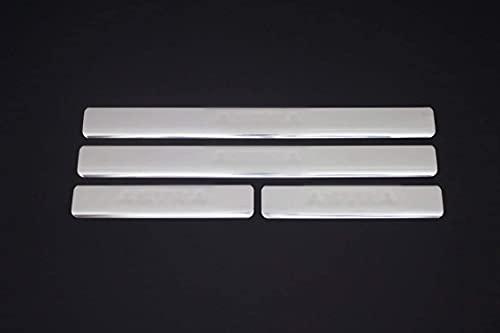 Para Astra G Saloon 1998 – 2009 cromo Escrito puerta cubierta de la placa protectora de acero inoxidable 4 piezas