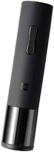 hwbq abridor de Vino eléctrico doméstico de una tecla automático Destornillador de 6 Segundos abridor de Vino (con Cable de Carga USB) Cortador de Papel Regalo de Restaurante en casa