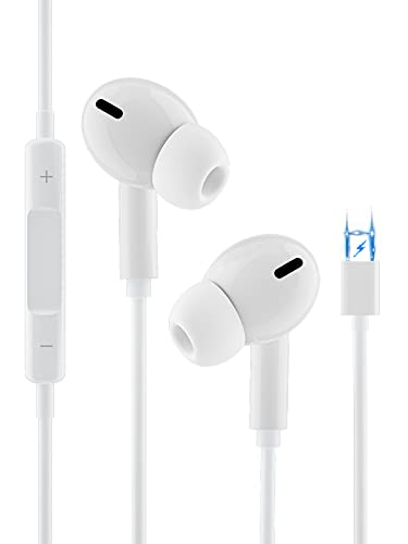 Auricolari,Auricolari per iPhone, cuffie accoppiati con isolamento acustico Supporto Controllo del volume e del microfono,compatibile con iPhone 12/11/11 Pro/13/XS/X/XR / 8/7/7 Plus per tutti gli iOS
