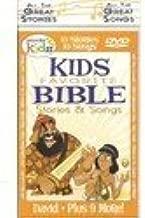 Kids Favorite Bible Stories & Songs - Wonder Kids 10 Stories & 10 Songs on DVD - David Plus 9 More!