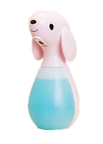 TAOSENG Dispensador de jabón de Espuma con Sensor Inteligente Multifuncional de Perro Lindo automático para el hogar con Recargable