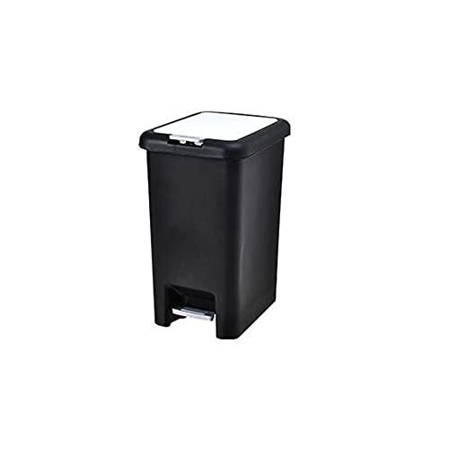 RUONING Prullenbak Afvalbakken Met Pedaal En Deksel Afvalbakken Keuken Recycling Badkamer Afvalbakken Badkamer Afvalbak Grote Afvalbak Kantoor Afvalbak